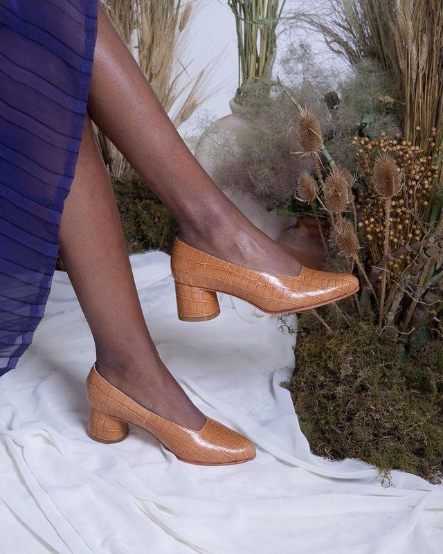 """<p>Who: Katherine Theobalds</p><p>What: 'Zou Xou aims to create a shoe wardrobe of modern essentials that are well-made, unfussy, and minimal.The collection is a narrative of elegant and simple designs made visible through refined contours, subtle detailing, and exceptional quality. The shoes are handcrafted by Argentinian shoemakers using age old techniques and premium leathers.'</p><p><a class=""""link rapid-noclick-resp"""" href=""""https://www.zouxou.com/shop"""" rel=""""nofollow noopener"""" target=""""_blank"""" data-ylk=""""slk:SHOP ZOUXOUS SHOES NOW"""">SHOP ZOUXOUS SHOES NOW</a></p><p><a href=""""https://www.instagram.com/p/B66AshWl4mc/"""" rel=""""nofollow noopener"""" target=""""_blank"""" data-ylk=""""slk:See the original post on Instagram"""" class=""""link rapid-noclick-resp"""">See the original post on Instagram</a></p>"""