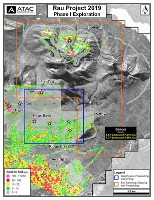 Phase 1 Exploration Area (CNW Group/ATAC Resources Ltd.)