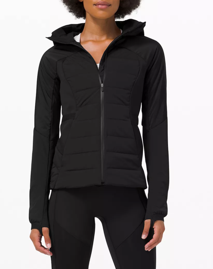 Lululemon Down For It All Jacket in Black