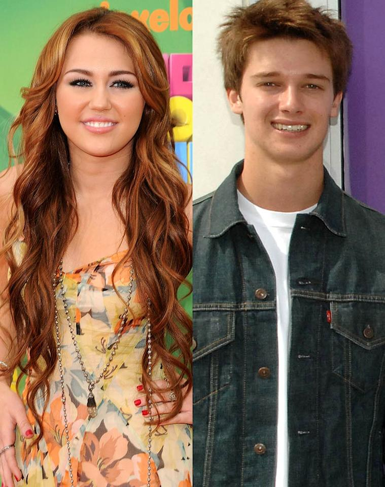 "The <i>National Enquirer</i> reports things are ""heating up"" between Miley Cyrus and Arnold Schwarzenegger's teenage son Patrick. According to the magazine, Schwarzenegger Jr. ""recently confessed to having a crush on Miley -- and now the two are dating."" The <i>Enquirer</i> says Cyrus also wants ""a full-fledged romance"" with Patrick, and thinks he's ""way classier than her previous boyfriends."" To find out how serious they've already become and when they're coming out as a couple, check out what a Cyrus pal exclusively leaks to <a href=""http://www.gossipcop.com/patrick-schwarzenegger-miley-cyrus-dating-relationship/"" target=""new"">Gossip Cop</a>. <a href=""http://www.gettyimages.com/"" target=""new"">GettyImages.com</a>"