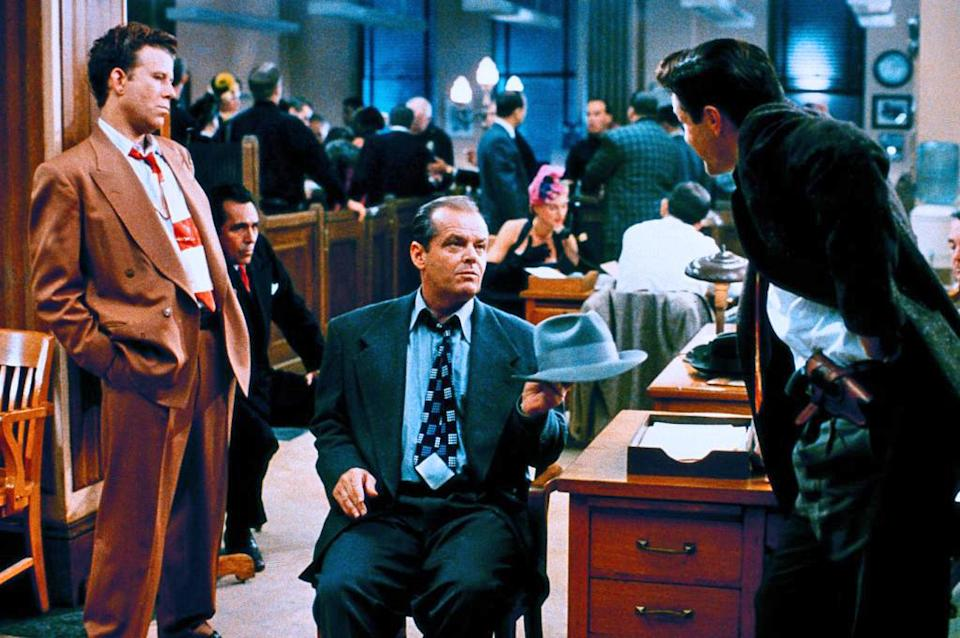 Tom Waits and Jack Nicholson in The Two Jakes. (Paramount)