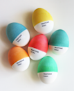 "<p>Take these colorful eggs to the next level by dyeing eggs in Pantone's colors of the year—<a href=""https://www.countryliving.com/life/a37013/pantone-reveals-colors-of-the-year-2016/"" rel=""nofollow noopener"" target=""_blank"" data-ylk=""slk:Rose Quartz and Serenity"" class=""link rapid-noclick-resp"">Rose Quartz and Serenity</a>. </p><p><strong>Get the tutorial at <a href=""http://howaboutorange.blogspot.com.au/2012/04/diy-pantone-easter-eggs.html"" rel=""nofollow noopener"" target=""_blank"" data-ylk=""slk:How About Orange"" class=""link rapid-noclick-resp"">How About Orange</a>.</strong></p>"