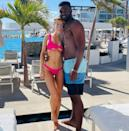 "<p>Fun in the sun! The <em>Selling</em> <em>Sunset </em>realtor and her <em>Dancing with the Stars</em> pro boyfriend flew to Cabo San Lucas, Mexico, to enjoy an early holiday getaway at <a href=""https://www.leblancsparesorts.com/los-cabos/en"" rel=""nofollow noopener"" target=""_blank"" data-ylk=""slk:Le Blanc Spa Resort"" class=""link rapid-noclick-resp"">Le Blanc Spa Resort</a>. They vacationed together with Stause's former <em>DWTS</em> partner, Gleb Savchenko, and his new flame, actress and dancer Cassie Scerbo, multiple sources confirmed to PEOPLE.</p>"
