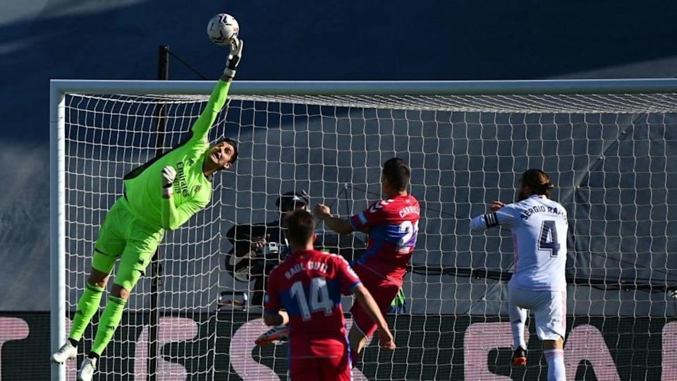 Courtois   GABRIEL BOUYS/Getty Images