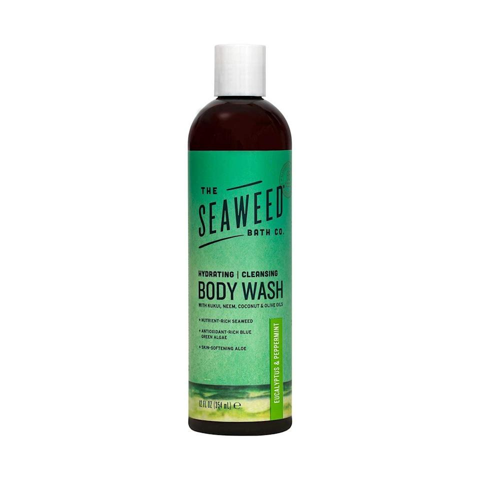 <p>The organic <span>The Seaweed Bath Co. Hydrating Body Wash</span> ($9) creates a moisturizing lather with antimicrobial oil to protect your skin and is formulated with antioxidant-rich spirulina (a type of algae).</p>