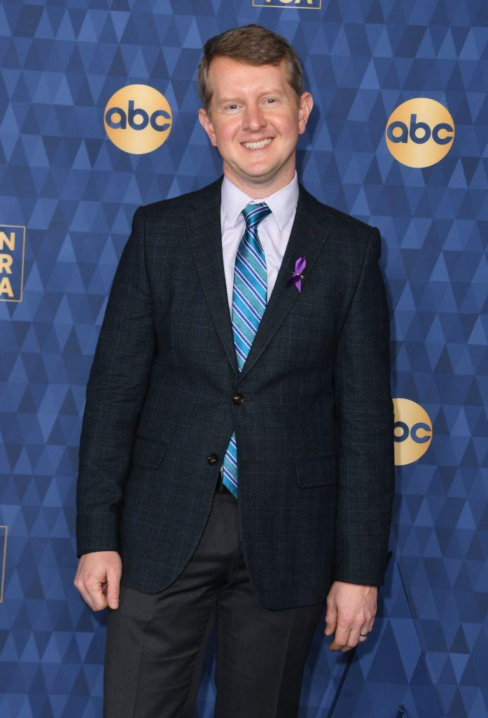 """""""Jeopardy!"""" champ Ken Jennings attends ABC's Winter TCA 2020 Press Tour in Pasadena, Calif., on Jan. 8, 2020. (Valerie Macon/AFP via Getty Images)"""