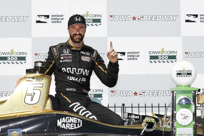 "James Hinchcliffe (aktiv): 6 Siege<span class=""copyright"">Michael L. Levitt / Motorsport Images</span>"