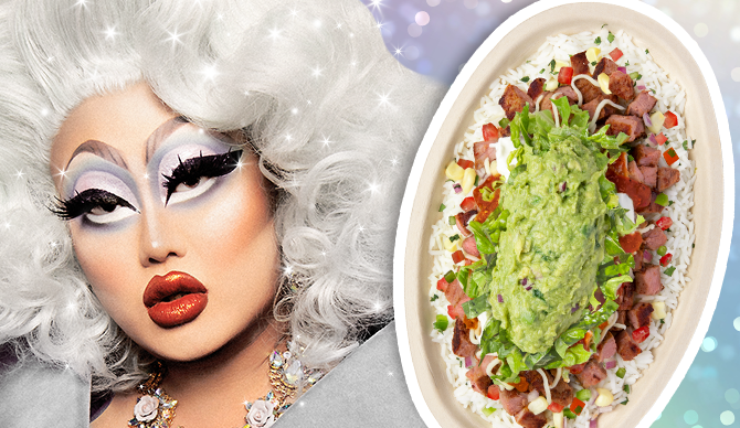 Orders of the Kim Chi Pride Bowl benefit the Human Rights Campaign, a civil rights group.