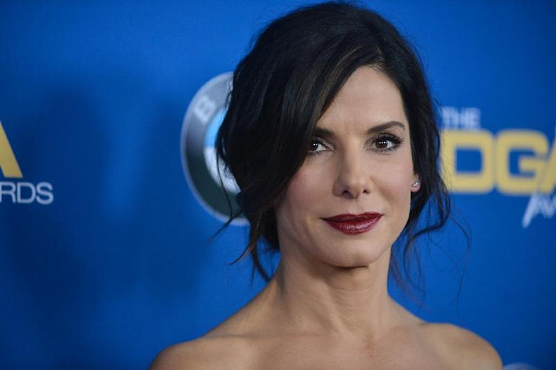Sandra Bullock arrives at 66th Annual DGA Awards Dinner at the Hyatt Regency Century Plaza Hotel on Saturday, Jan. 25, 2014, in Los Angeles, Calif. (Photo by Richard Shotwell Invision/AP)