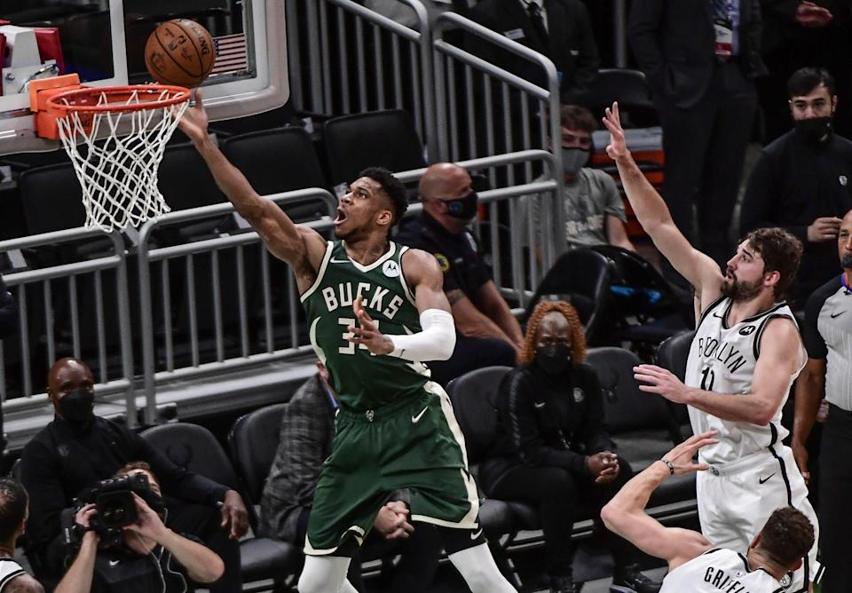 Giannis Antetokounmpo and the Bucks can even the series in Game 4 on Sunday.