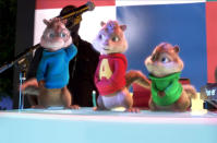 'Alvin And The Chipmunks' franchise - £950 million: Parents know. They get it. It's this or another two hours of chasing junior around the living room. But for anyone yet to be blessed with sprog, the success – make that successes, plural – of this animated abomination of a franchise must be nothing less than baffling. Over four movies, the 'Alvin And The Chipmunks' franchise has made almost ONE BILLION POUNDS at the box office. How did we as a species let this happen? Call Pest Control immediately.