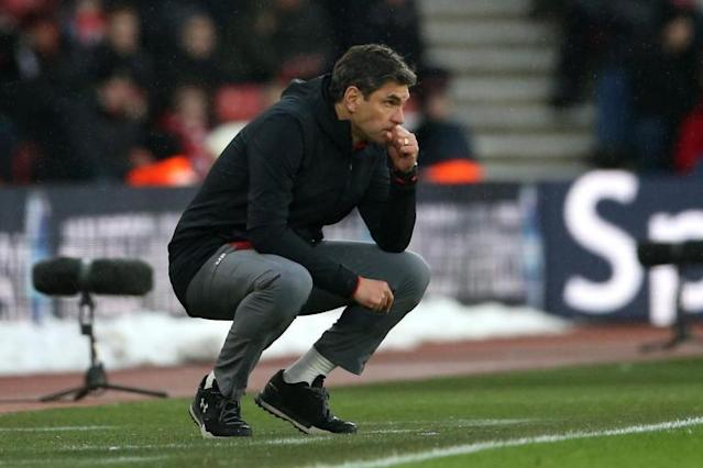Mauricio Pellegrino sacked as Southampton manager with Saints battling to retain Premier League status