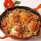 """<p>Weeknight dinner all-star. </p><p>Get the <a href=""""https://www.delish.com/uk/cooking/recipes/a30559963/paprika-chicken-rice-recipe/"""" rel=""""nofollow noopener"""" target=""""_blank"""" data-ylk=""""slk:Paprika Chicken & Rice"""" class=""""link rapid-noclick-resp"""">Paprika Chicken & Rice</a> recipe.</p>"""