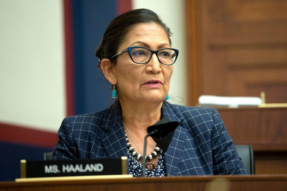 "<p><strong>Laguna Pueblo</strong></p><p>Another trailblazer, Deb Haaland represents the New Mexico congressional district containing most of Albuquerque and its suburbs. She's <a href=""https://haaland.house.gov/about"" rel=""nofollow noopener"" target=""_blank"" data-ylk=""slk:&quot;a 35th generation New Mexican&quot;"" class=""link rapid-noclick-resp"">""a 35th generation New Mexican""</a> and member of the Pueblo of Laguna, a tribe rooted in that region.</p><p><a href=""https://www.congress.gov/member/debra-haaland/H001080?q={%22sponsorship%22:%22sponsored%22}&searchResultViewType=expanded"" rel=""nofollow noopener"" target=""_blank"" data-ylk=""slk:Haaland has been involved as a sponsor or co-sponsor"" class=""link rapid-noclick-resp"">Haaland has been involved as a sponsor or co-sponsor</a> on legislation to combat environmental pollution, improve the ability to vote by mail, and give Indigenous people more autonomy in controlling their tribal lands.</p><p>""I welcome any Indian tribe into my office whether they're in my district or not,"" <a href=""https://haaland.house.gov/media/in-the-news/rep-deb-haaland-bio-her-own-words-history-policies-record"" rel=""nofollow noopener"" target=""_blank"" data-ylk=""slk:said Haaland"" class=""link rapid-noclick-resp"">said Haaland</a>. ""I make sure that any issues they bring to me have a voice.""</p>"