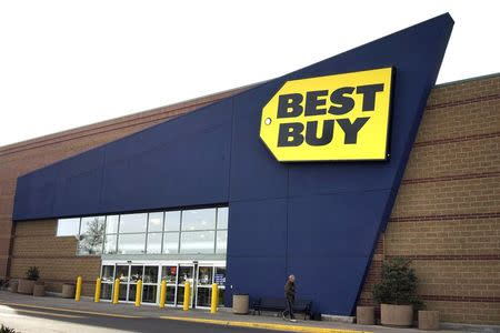 File photo of Best Buy store is pictured in Westminster, Colorado