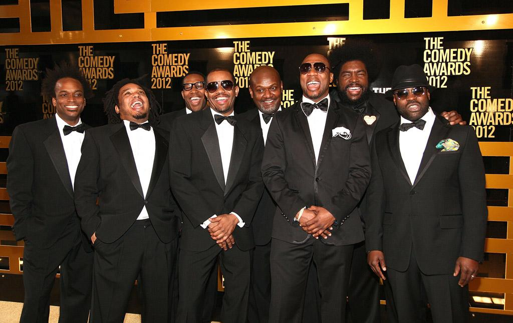 The Roots attend The Comedy Awards 2012 at Hammerstein Ballroom on April 28, 2012 in New York City.