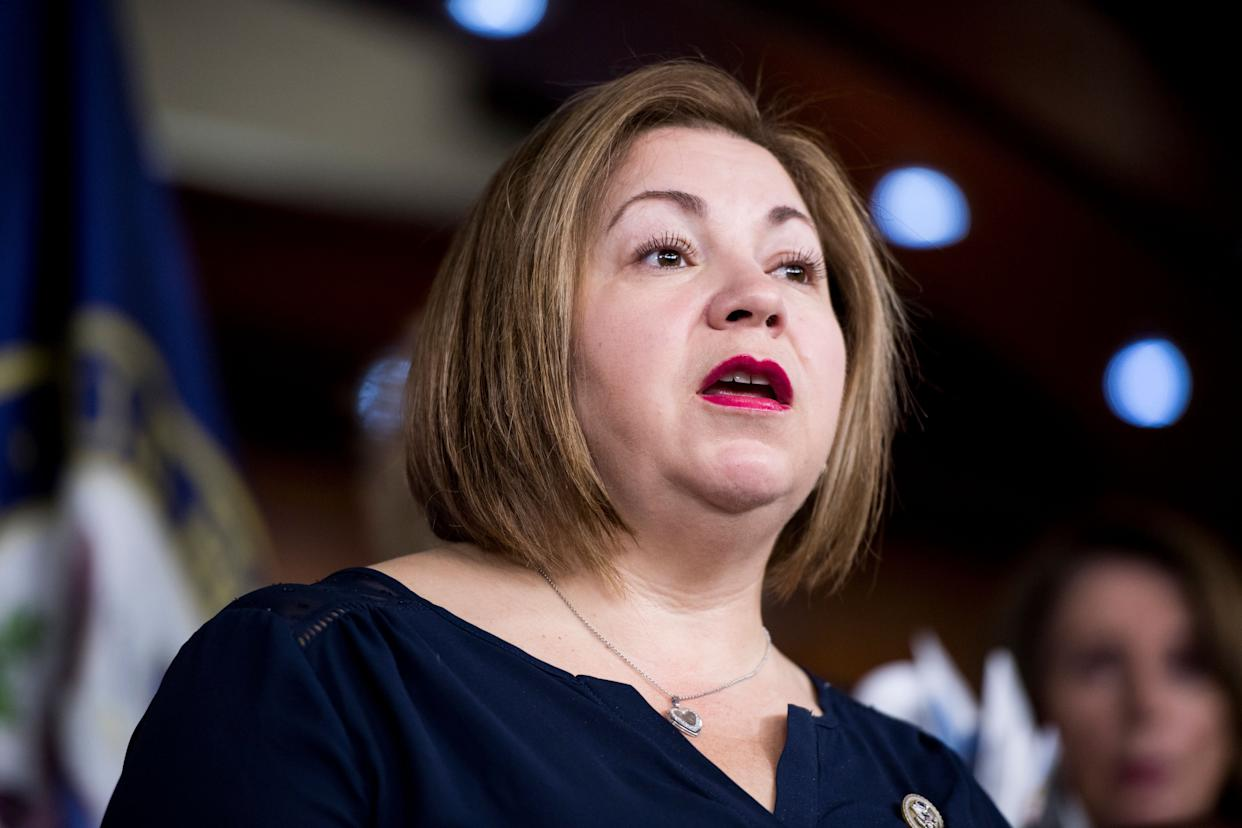 """Hours after Trump's inauguration,&nbsp;Rep. Linda Sanchez (D-Ca.) and other Hispanic lawmakers <a href=""""http://www.huffingtonpost.com/entry/hispanic-lawmakers-trump-inauguration_us_58829367e4b096b4a231d9b2"""" rel=""""nofollow noopener"""" target=""""_blank"""" data-ylk=""""slk:met with reporters to say they would fight &quot;at every turn&quot; to protect thousands of young undocumented immigrants"""" class=""""link rapid-noclick-resp"""">met with reporters to say they would fight """"at every turn"""" to protect thousands of young undocumented immigrants</a> from deportation under the new administration. <br><br>&ldquo;We are here today on the day of inauguration to send a very clear message to our president: The CHC is going to stand up and fight for the rights of the Hispanic community,&rdquo; <a href=""""http://www.huffingtonpost.com/entry/hispanic-lawmakers-trump-inauguration_us_58829367e4b096b4a231d9b2"""" rel=""""nofollow noopener"""" target=""""_blank"""" data-ylk=""""slk:Sanchez said."""" class=""""link rapid-noclick-resp"""">Sanchez said.</a> &ldquo;The president of the United States has made it abundantly clear, including in his speech today, that he is openly hostile to immigrants, particularly immigrants of Mexican ancestry.&rdquo;"""