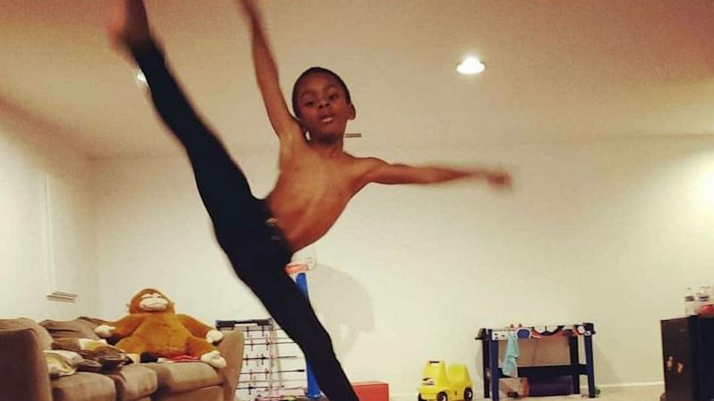 Boy choreographs ballet recital for himself and his sister with studio's performance postponed by pandemic