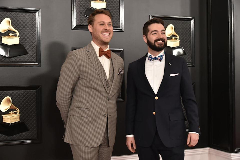 the okee dokee brothers at grammys