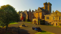 """<p>This idyllic country escape is <a href=""""https://go.redirectingat.com?id=127X1599956&url=https%3A%2F%2Fwww.booking.com%2Fhotel%2Fgb%2Fglenapp-castle.en-gb.html%3Faid%3D2070929%26label%3Dcastle-hotels&sref=https%3A%2F%2Fwww.countryliving.com%2Fuk%2Ftravel-ideas%2Fstaycation-uk%2Fg35418369%2Fcastle-hotels%2F"""" rel=""""nofollow noopener"""" target=""""_blank"""" data-ylk=""""slk:Glenapp Castle"""" class=""""link rapid-noclick-resp"""">Glenapp Castle</a>, a family owned and occupied baronial castle hotel in the south west of Scotland's historic lowlands. </p><p>Expect the full castle checklist here, with winding turrets, wood-panelled rooms and sumptuous furniture and antiques decorating every corner. Although, the restaurant is strictly modern, serving inventive food that even a king wouldn't shake his stick at. </p><p><a class=""""link rapid-noclick-resp"""" href=""""https://go.redirectingat.com?id=127X1599956&url=https%3A%2F%2Fwww.booking.com%2Fhotel%2Fgb%2Fglenapp-castle.en-gb.html%3Faid%3D2070929%26label%3Dcastle-hotels&sref=https%3A%2F%2Fwww.countryliving.com%2Fuk%2Ftravel-ideas%2Fstaycation-uk%2Fg35418369%2Fcastle-hotels%2F"""" rel=""""nofollow noopener"""" target=""""_blank"""" data-ylk=""""slk:CHECK AVAILABILITY"""">CHECK AVAILABILITY</a></p>"""