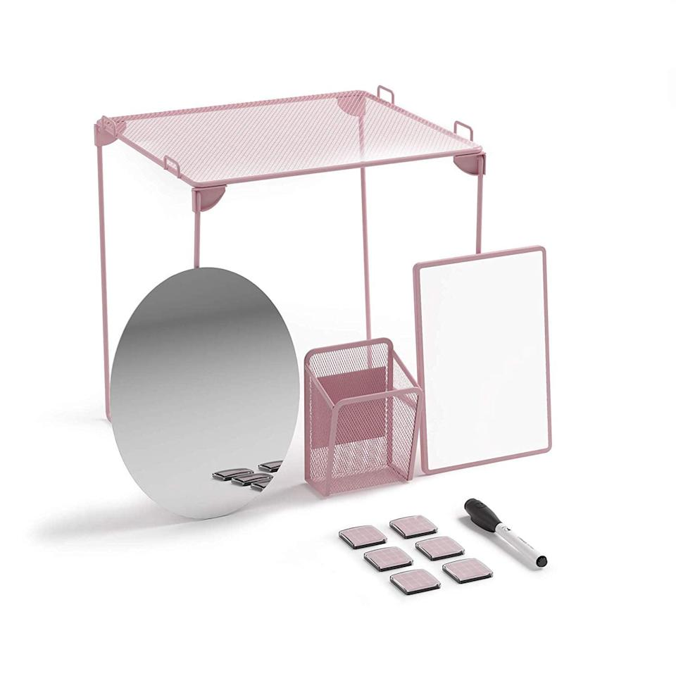 <p>Need a whole set? This <span>U Brands Locker Organizer and Decorating Kit</span> ($16) has a shelf, mirror, white board, magnets, and pen holder.</p>