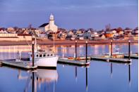 <p>Sometimes called P-town, Provincetown is located on the northern tip of Cape Cod.</p>