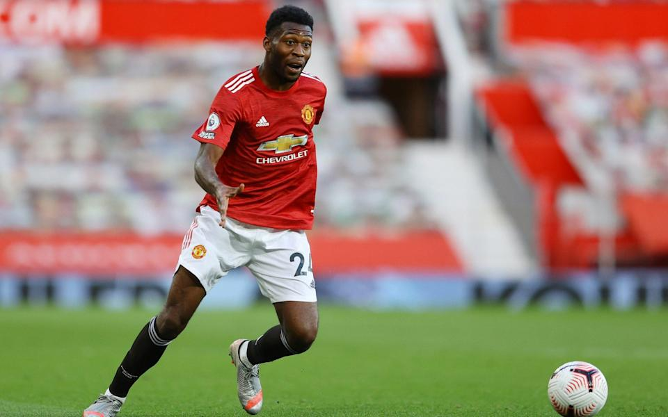 Manchester United's Timothy Fosu-Mensah in action  - REUTERS