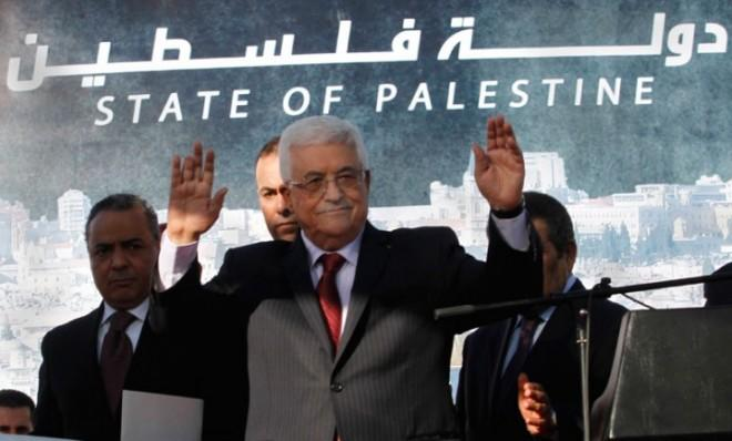 To avoid confrontation, Palestinian President Mahmoud Abbas won't rush to change the passports and ID cards of his people.