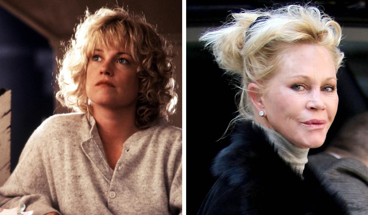 Melanie Griffith:Mel's unnecessary battle with the results of Father Time is fairly well-documented. Unfortunately, it means that the scrappy sensuousness of her previous screen incarnation is all but gone forever.