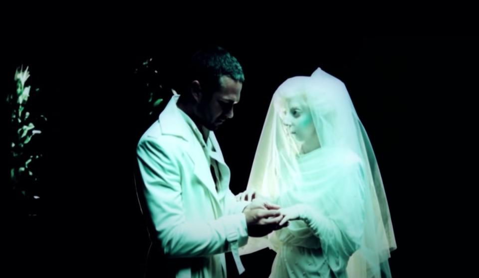 taylor kinney and lady gaga in you and i video