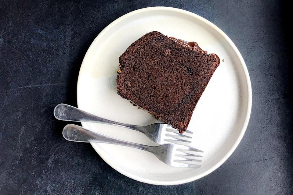 A chocolate cake that is savoury and sweet...  the best of both worlds. — Pictures by CK Lim