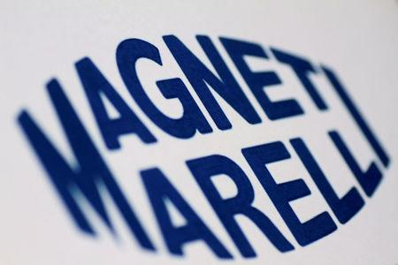 Illustration photo of the Magneti Marelli logo