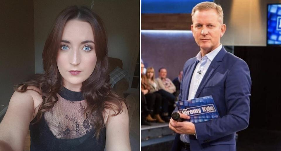 Natasha Reddican, left, was struggling to find work after losing her job on The Jeremy Kyle Show, an inquest heard. (Reach/ITV)