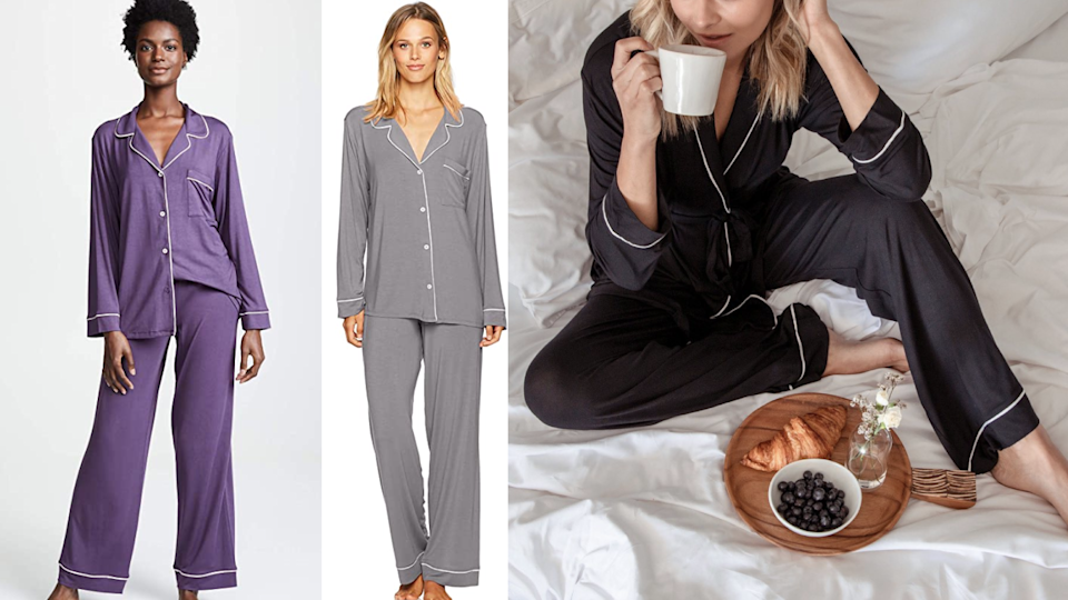 Gifts for new parents: Eberjey Pajamas