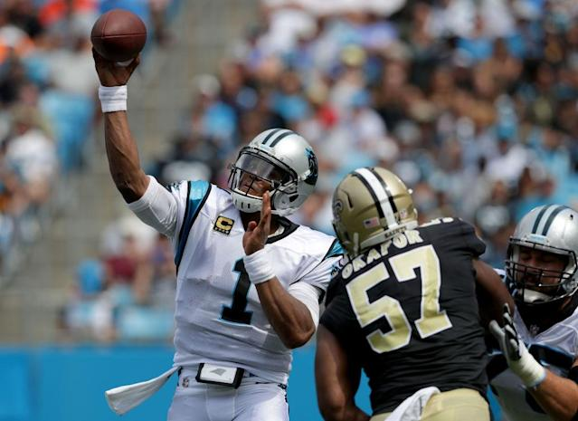 The Panthers and Saints meet once again. (Getty)