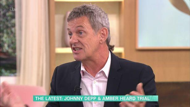 Matthew Wright has been cultivating his mullet since the summer. (ITV)