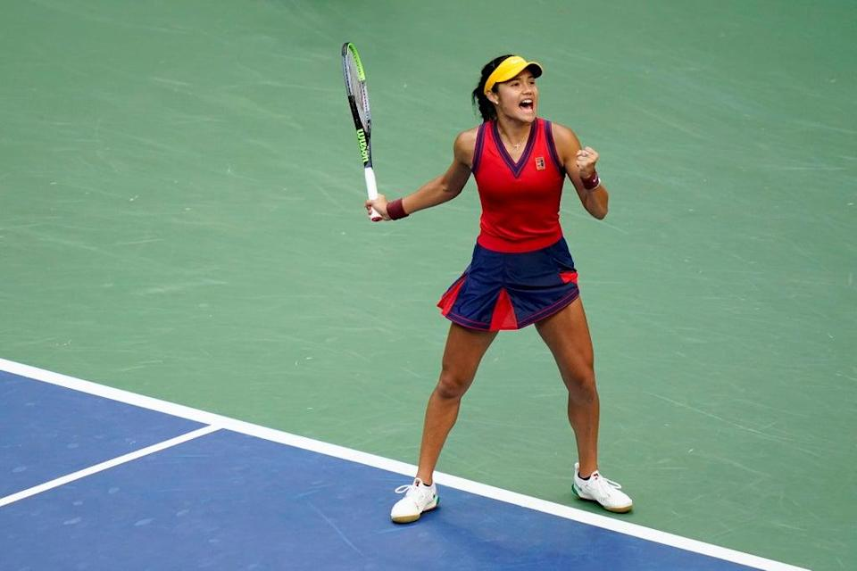 How will Raducanu cope now that elite players are all too aware of her skills? (AP)