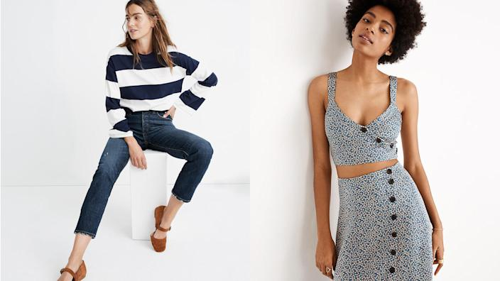 Madewell sales are an extra joyous occasion.