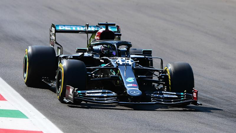 Hamilton leads the way as Mercedes dominate practice at Monza