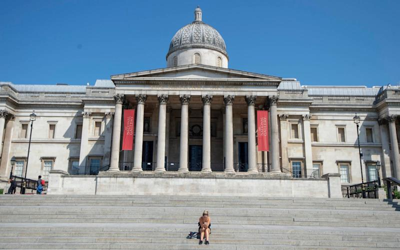 The National Gallery is finally preparing to welcome visitors back - Paul Grover for DT