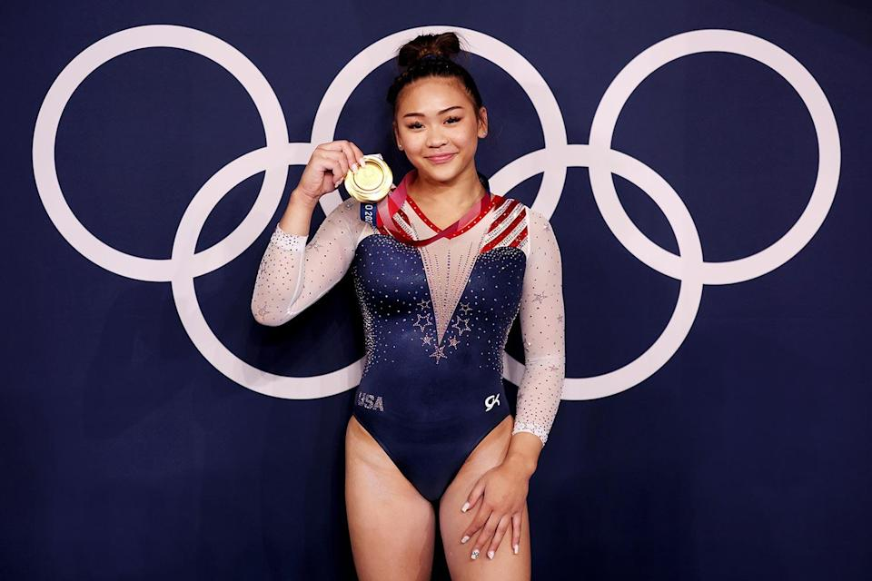 <p><strong>Year she won:</strong> 2021 (rescheduled from 2020)</p> <p><strong>Age at the time:</strong> 18</p> <p><strong>Other medals:</strong> One silver from the team competition in 2021 </p>