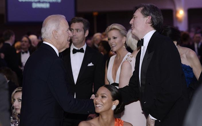 <p>Vice President Joe Biden attends the White House Correspondents' Dinner, April 30. <i>(Photo: Olivier Douliery-Pool/Getty Images)</i></p>