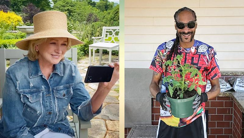 "Martha Stewart and Snoop Dogg appear in the lifestyle expert's new series ""Martha Knows Best."""