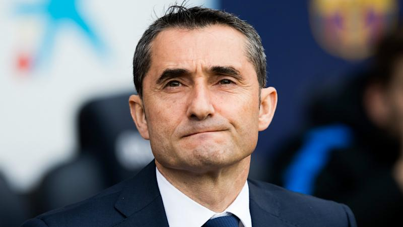 Barcelona records of no interest to Valverde after tough week