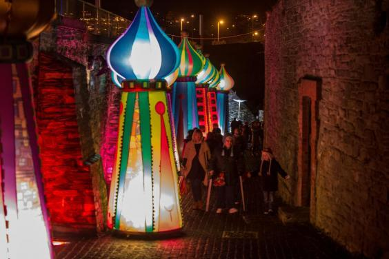 The 17th-century walls are an integral part of Derry's festivities