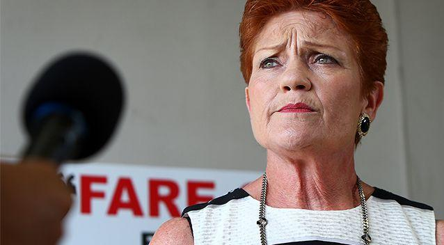 Pauline Hanson's One Nation party has had a fraught relationship with social media in recent months. Photo: Getty Images