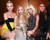 <p>The blonde ladies (and dirty blonde Allegra) hung out at the Versace after party at The Mark Hotel. (Photo: Shutterstock) </p>
