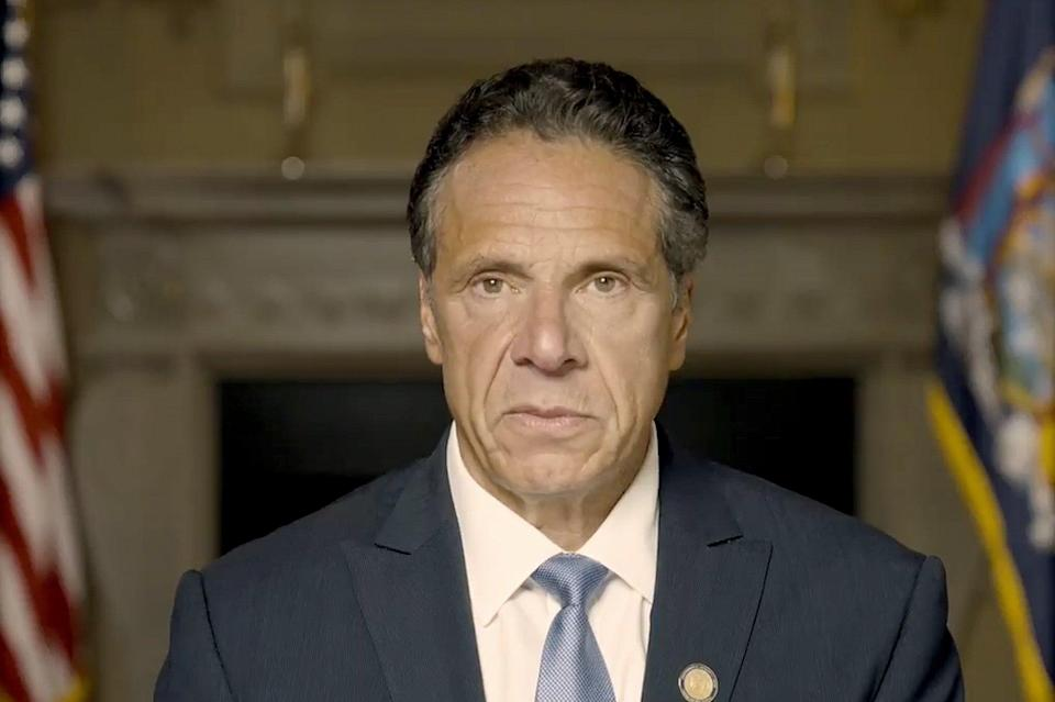 APTOPIX Cuomo Sexual Harassment (Office of the Governor)
