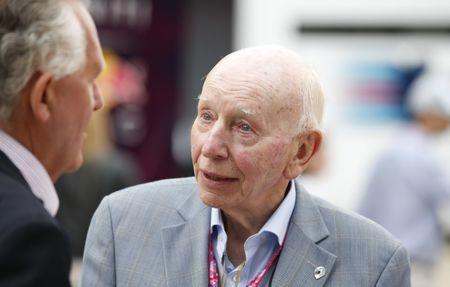 Formula One - F1 - British Grand Prix 2015 - Silverstone, England - 5/7/15 Former driver John Surtees before the race Reuters / Phil Noble