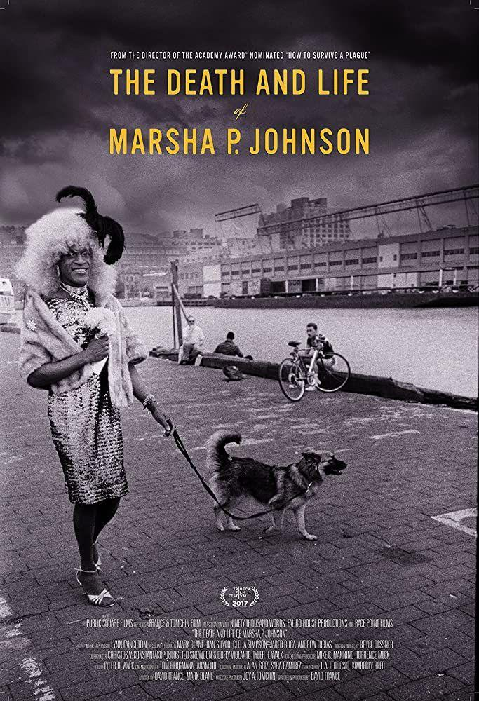 """<p>Marsha P. Johnson was an activist in New York City known for her work in the Stonewall uprising in 1969. As CNN reports, the word <a href=""""https://www.cnn.com/2019/06/26/us/marsha-p-johnson-biography/index.html"""" rel=""""nofollow noopener"""" target=""""_blank"""" data-ylk=""""slk:&quot;transgender&quot; was not widely used"""" class=""""link rapid-noclick-resp"""">""""transgender"""" was not widely used</a> during Johnson's lifetime, so she """"identified as a 'transvestite,' gay and a drag queen, and used she/her pronouns."""" </p><p>She's lauded for her activism, and this documentary dives into her significance to the LGBTQ+ rights movement, as well as her mysterious death.</p>"""
